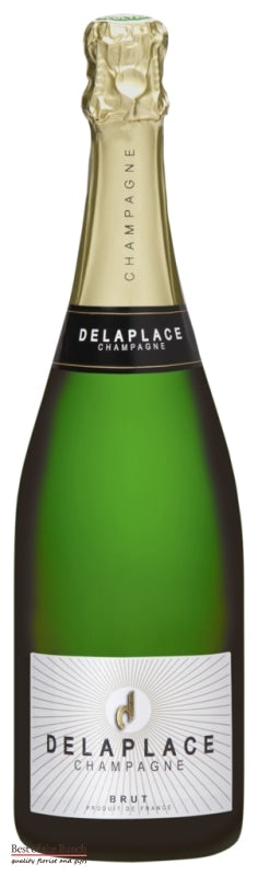 French Champagne - Delaplace Brut NV - Delivered In A Gift Box - Best of the Bunch Florist Wellington