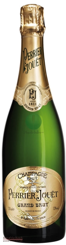 French Champagne - Perrier Jouet Champagne Grand Brut - Delivered In A Gift Box - Best of the Bunch Florist Wellington