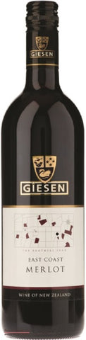 Giesen East Coast Merlot - Wine Delivered In A Wine Gift Bag / Box - Best of the Bunch Florist Wellington