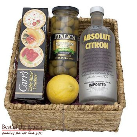 Gift Basket Absolut Vodka Mother Russia - Best of the Bunch Florist Wellington