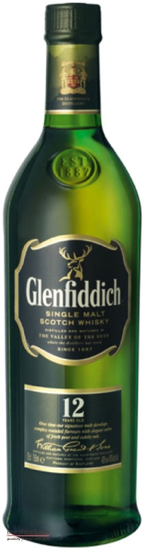 Glenfiddich Special Reserve 12 Year Old - Single Malt Scotch Whisky - Delivered In A Gift Box - Best of the Bunch Florist Wellington