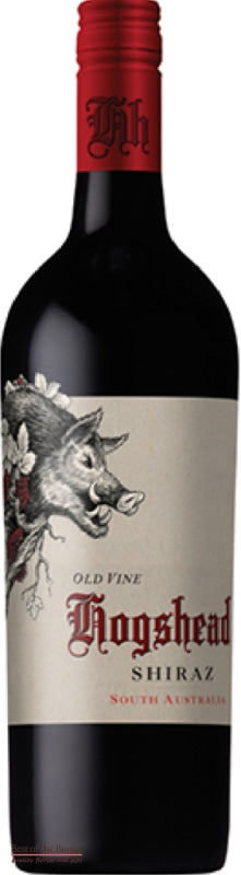 Hogs Head Old Vine Shiraz South Australia - Wine Delivered In A Wine Gift Bag / Box - Best of the Bunch Florist Wellington