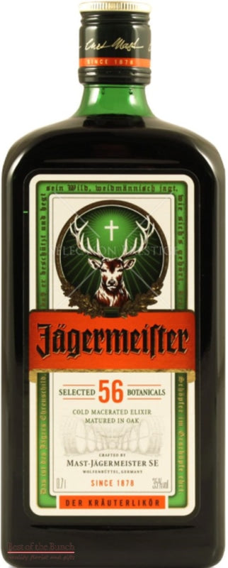 Jagermeister Herbal Liqueur 700ml - Best of the Bunch Florist Wellington