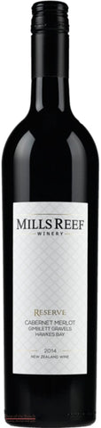 Mills Reef Reserve Hawke's Bay Cabernet Merlot - Wine Delivered In A Wine Gift Bag / Box - Best of the Bunch Florist Wellington