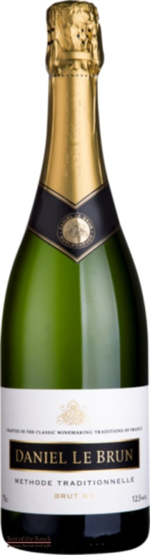 New Zealand Sparkling Wine - Daniel Le Brun Marlborough Brut NV - Wine Delivered In A Wine Gift Bag / Box - Best of the Bunch Florist Wellington