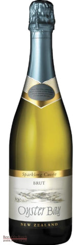 New Zealand Sparkling Wine - Oyster Bay Hawke's Bay Brut NV  - Wine Delivered In A Wine Gift Bag / Box - Best of the Bunch Florist Wellington