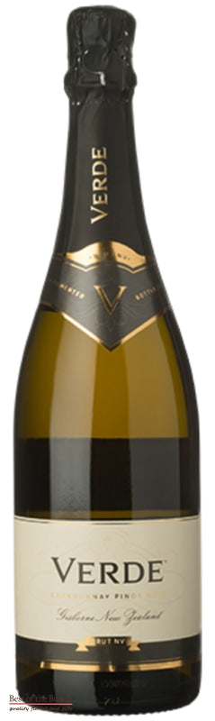 New Zealand Sparkling Wine - Verde Gisborne Methode Chardonnay Pinot Noir  - Wine Delivered In A Wine Gift Bag / Box - Best of the Bunch Florist Wellington