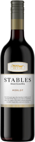 Ngatarawa Stables Hawke's Bay Merlot - Wine Delivered In A Wine Gift Bag / Box - Best of the Bunch Florist Wellington