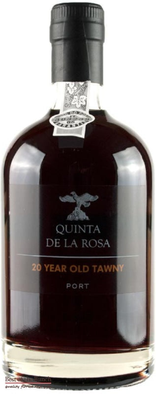 Quinta De La Rosa Tawny Port 20 Year Old  - Portugal (500ml) - Delivered In A Gift Box - Best of the Bunch Florist Wellington