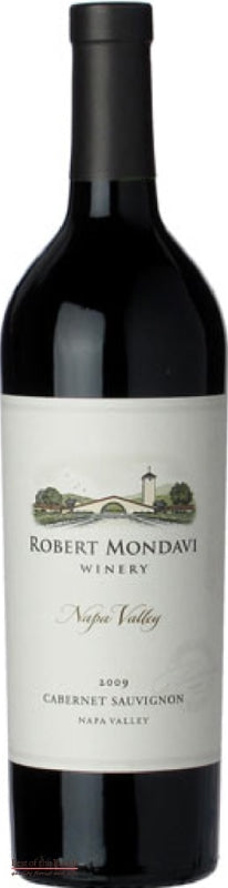 Robert Mondavi Winery Napa Valley California Cabernet Sauvignon - Wine Delivered In A Wine Gift Bag / Box - Best of the Bunch Florist Wellington