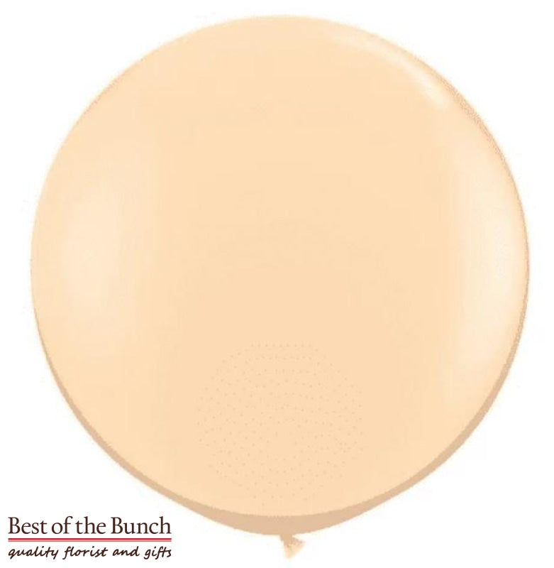 "Rose Gold Round Latex Giant XXL Extra Large Helium Balloon 60cm (24"") OR 90cm (36"") - Best of the Bunch Florist Wellington"