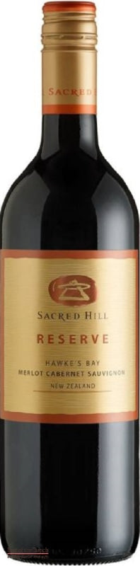 Sacred Hill Reserve Hawke's Bay Merlot Cabernet - Wine Delivered In A Wine Gift Bag / Box - Best of the Bunch Florist Wellington