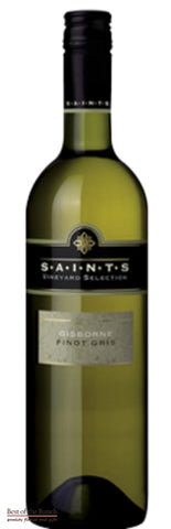 Saints Gisborne Pinot Gris - Wine Delivered In A Wine Gift Bag / Box - Best of the Bunch Florist Wellington