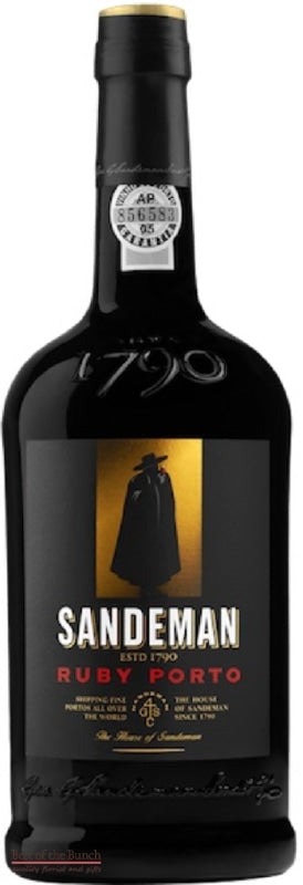 Sandeman Fine Ruby Port - Portugal (750ml) - Delivered In A Gift Box - Best of the Bunch Florist Wellington