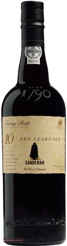 Sandeman Tawny Port 10 Year Old - Portugal (750ml) - Delivered In A Gift Box - Best of the Bunch Florist Wellington