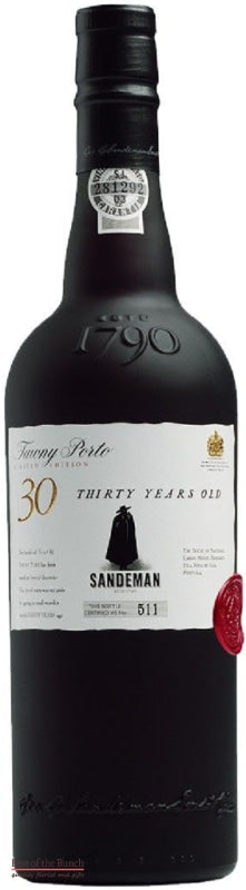 Sandeman Tawny Port 30 Year Old - Portugal (750ml) - Delivered In Original Presentation Gift Box - Best of the Bunch Florist Wellington