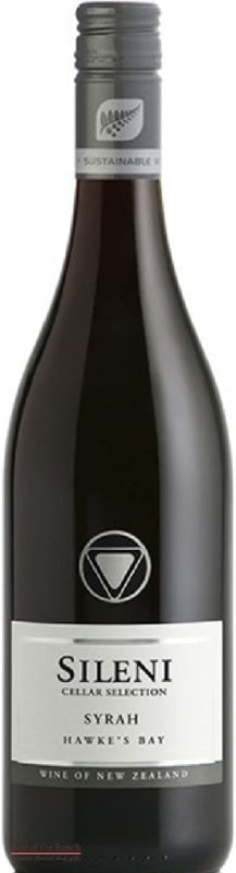 Sileni Cellar Selection Hawke's Bay Syrah - Wine Delivered In A Wine Gift Bag / Box - Best of the Bunch Florist Wellington