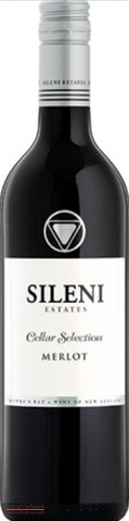 Sileni Hawke's Bay Merlot - Wine Delivered In A Wine Gift Bag / Box - Best of the Bunch Florist Wellington