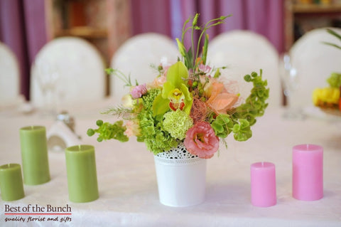 Table Flower Arrangement Sorbet - Best of the Bunch Florist Wellington