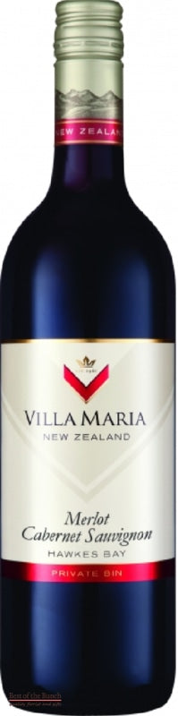 Villa Maria Hawke's Bay Merlot Cabernet Savignon - Wine Delivered In A Wine Gift Bag / Box - Best of the Bunch Florist Wellington