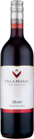 Villa Maria Private Bin Hawke's Bay Merlot - Wine Delivered In A Wine Gift Bag / Box - Best of the Bunch Florist Wellington
