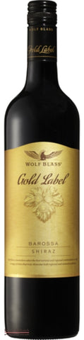 Wolf Blass Gold Label Shiraz  Barossa Valley Australia - Wine Delivered In A Wine Gift Bag / Box - Best of the Bunch Florist Wellington