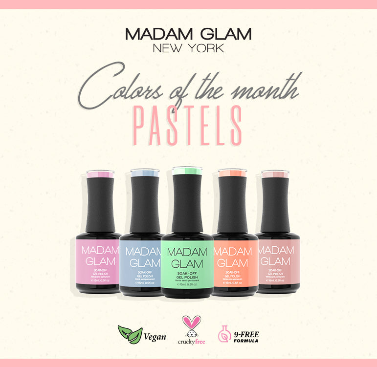 Pastel Your Nails this March!