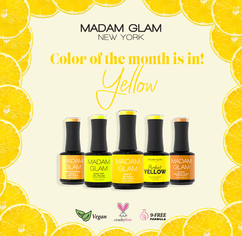 YELLOW: Color of the Month