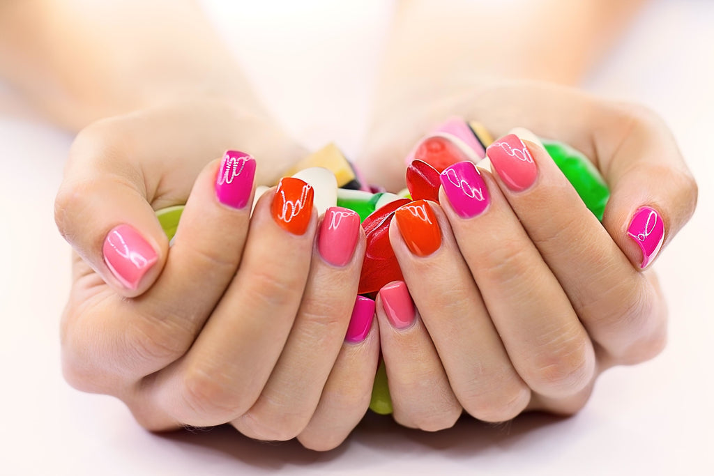 Power To The Manicure Of The Future: Iconic Gel Nails