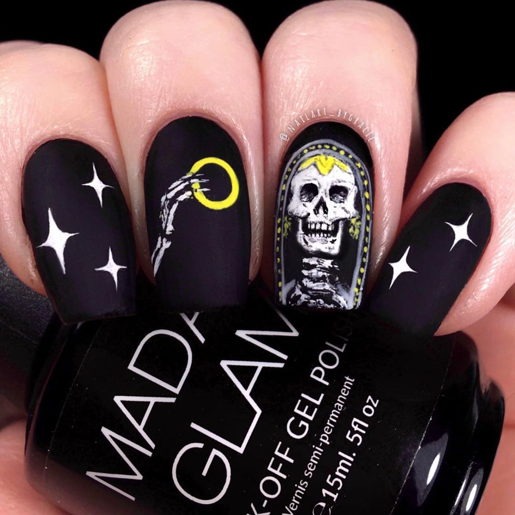 #madamglamboo:  Halloween Nail Designs That Are Better Than A Costume