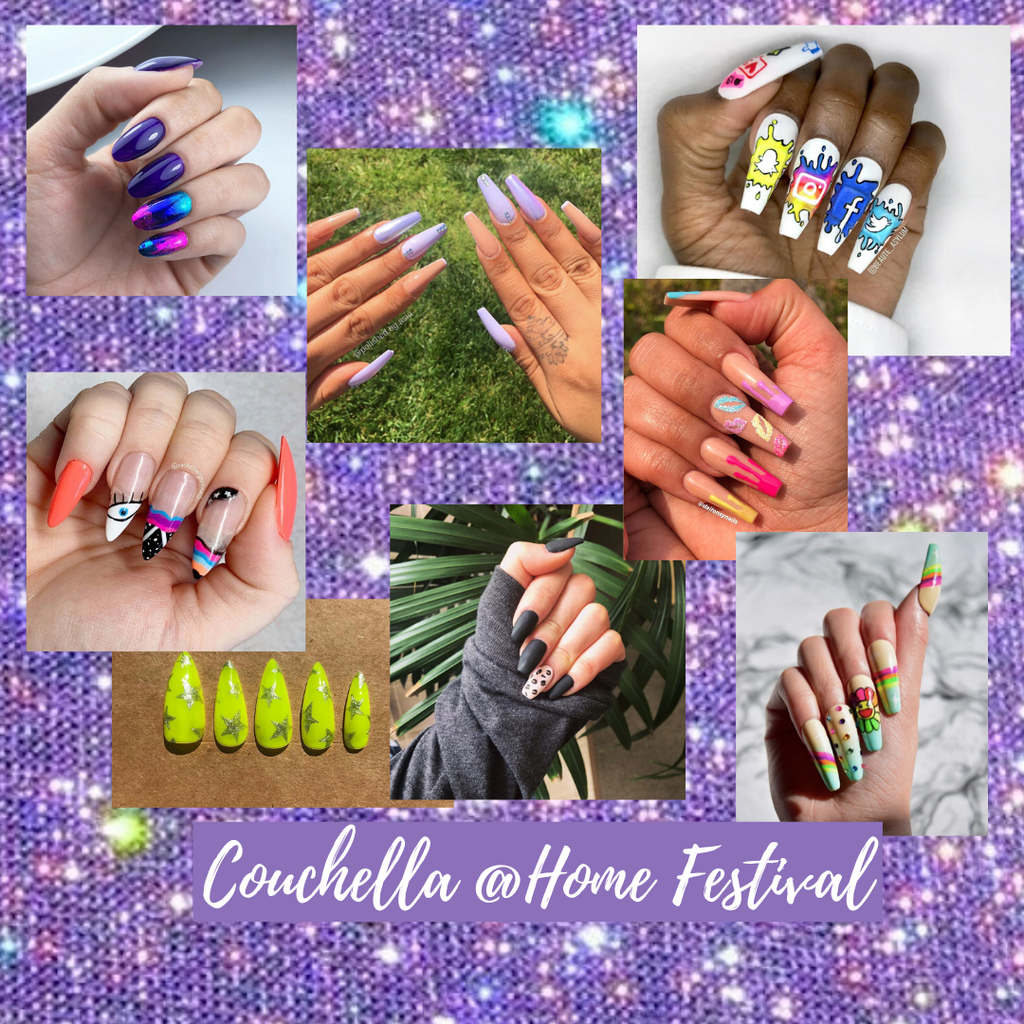@Home Festival Nail Art Ideas | Get the Look!