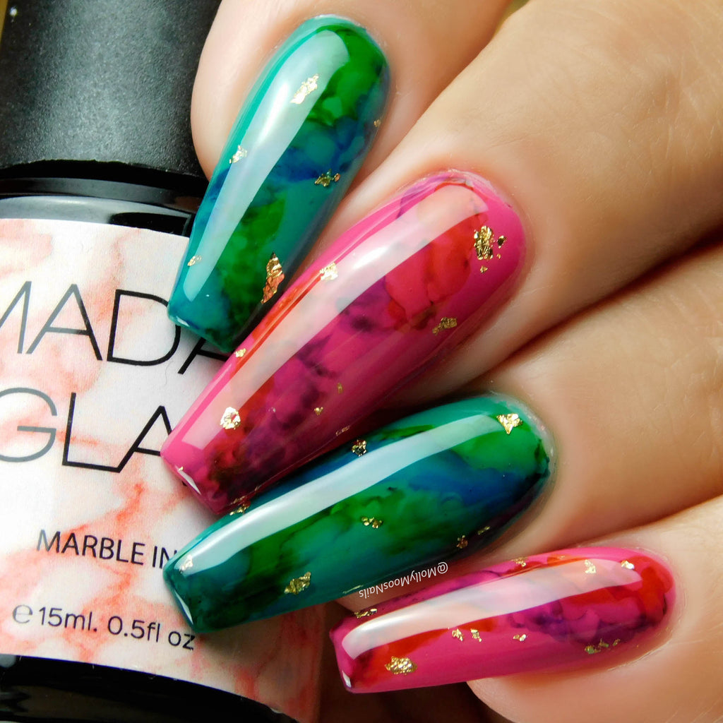 A Marble-ous Nail Art Idea!