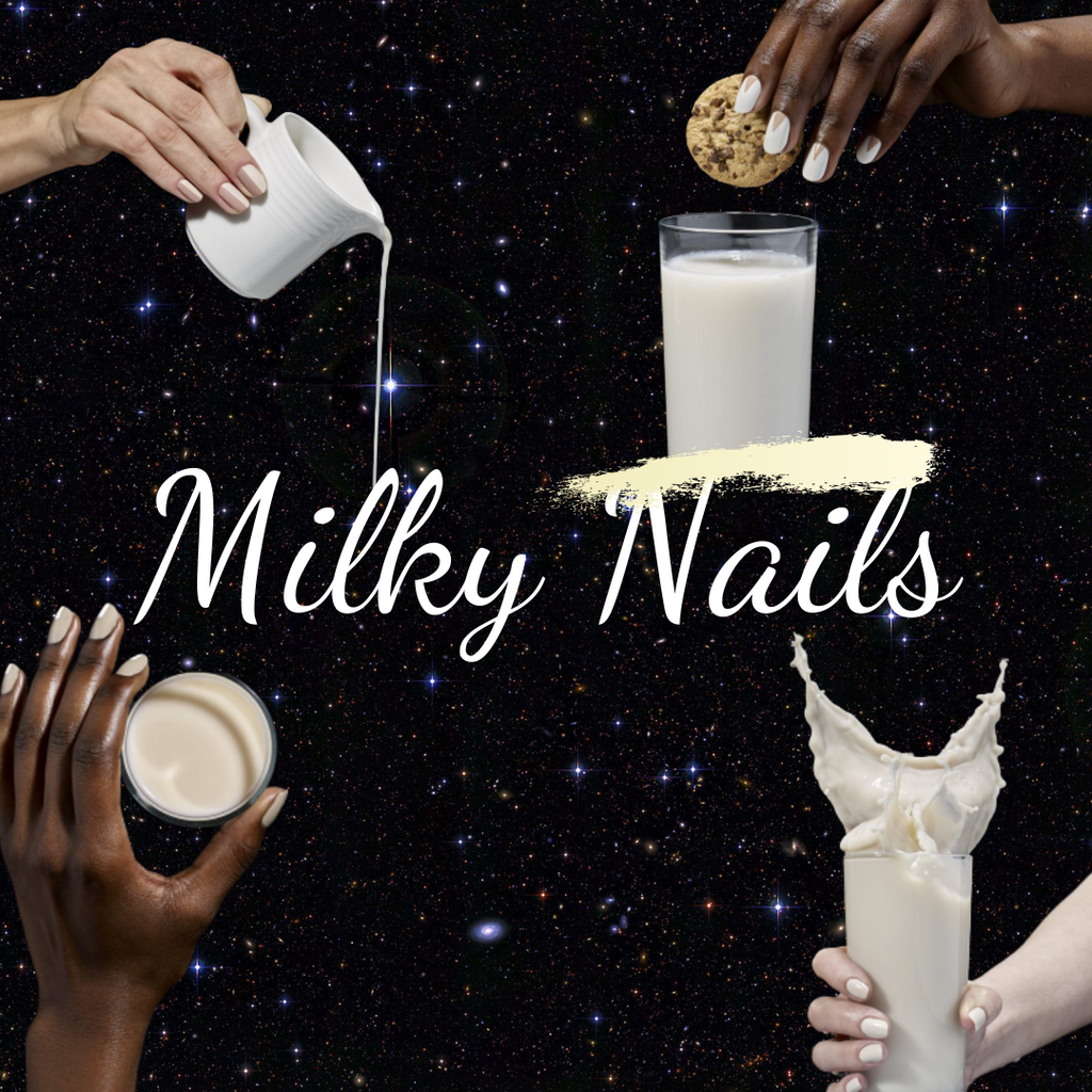 Hot Trend Alert: Milky Nails 🥛