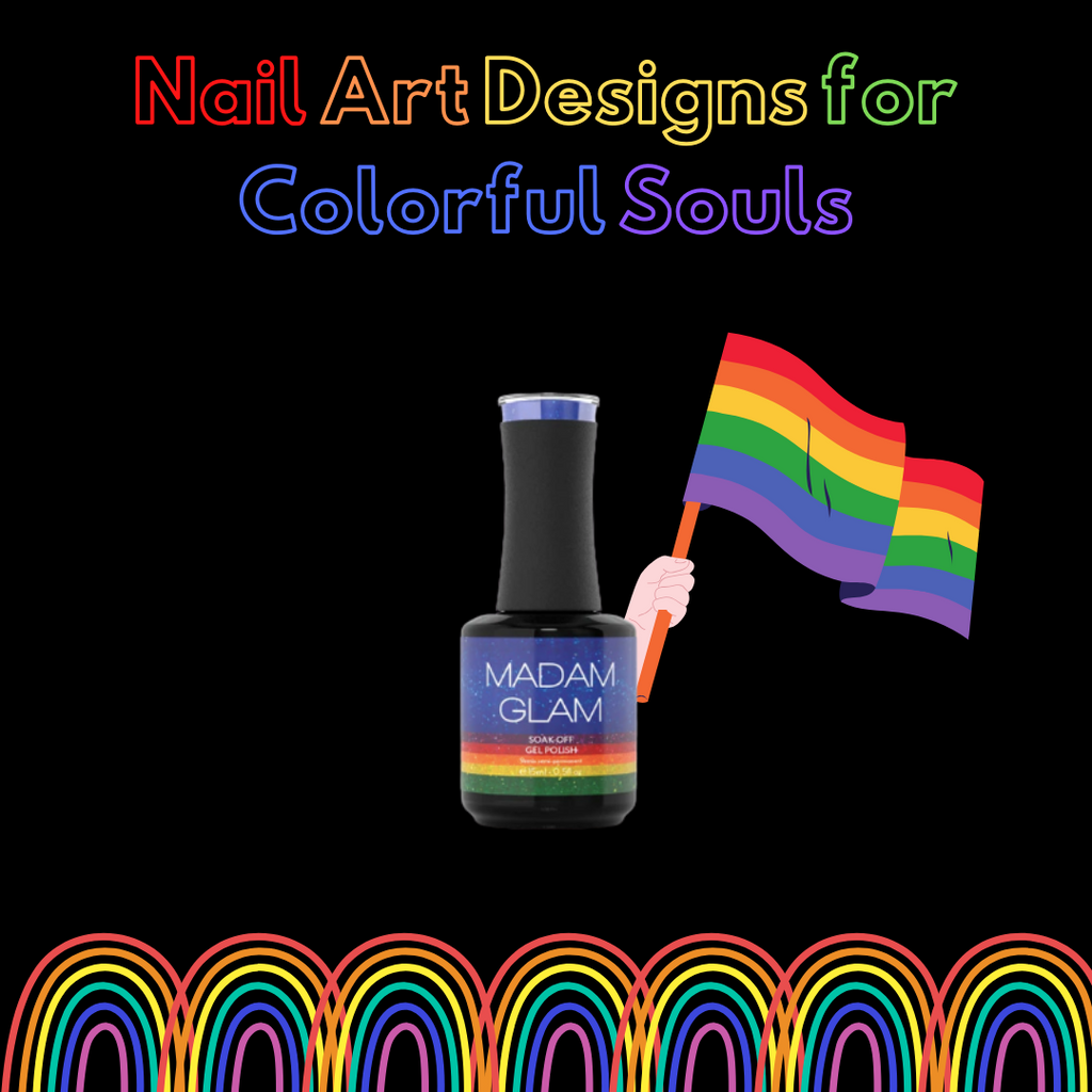 10 Rainbow Nail Art Designs For Colorful Souls