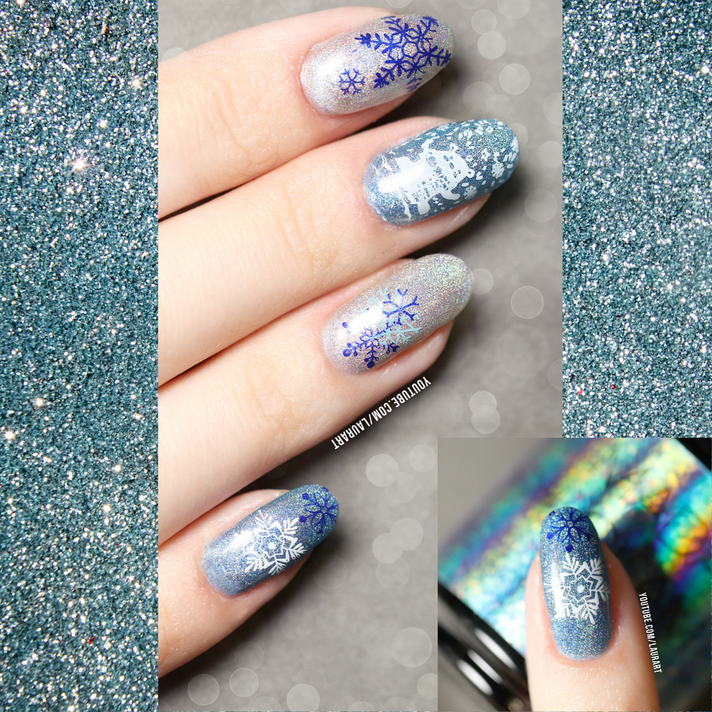 #creativechallenge: Holographic Manicure x Laurart