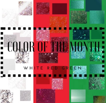 JUST IN: Madam Glam's colors of the month. Get festive & inspired!