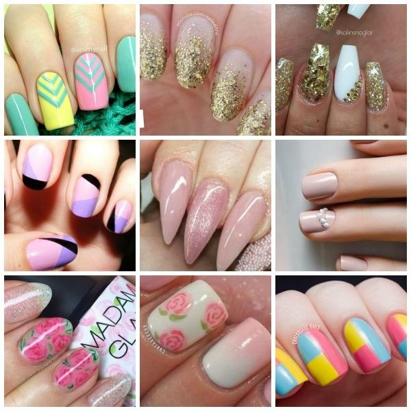 Trends and nail designs for spring