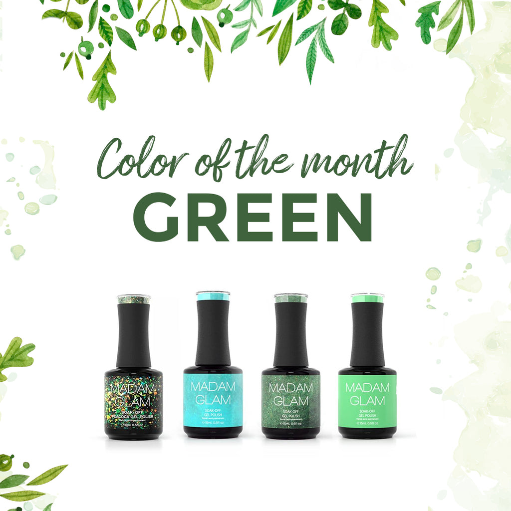 GO GREEN with Madam Glam!