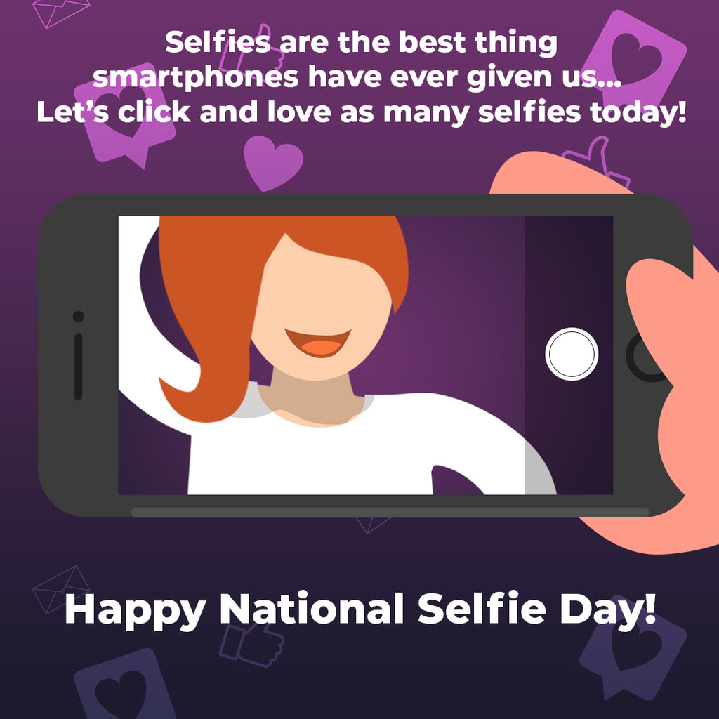 Celebrate National Selfie Day in a glamorous way with Madam Glam!