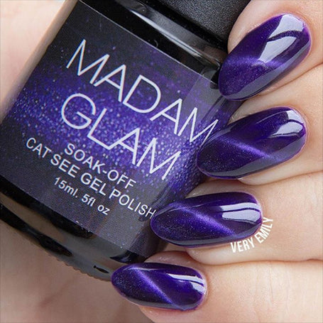 flying purple, gel, madam glam