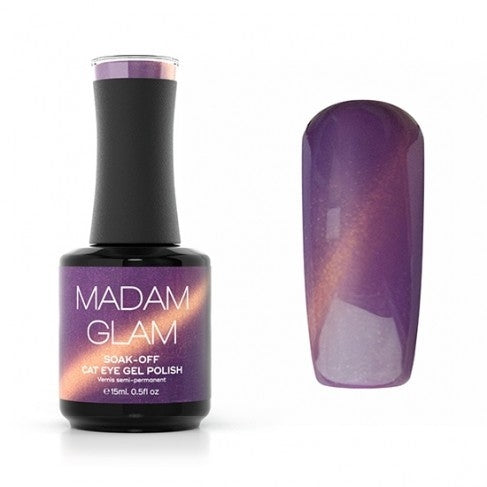 madam glam, purple, gel
