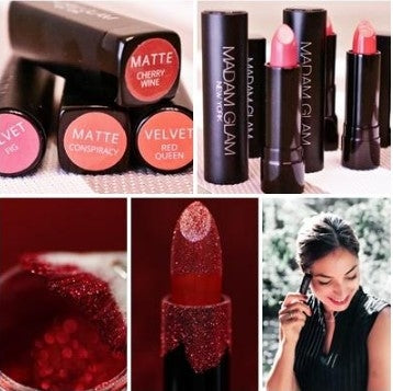 The talk lipstick collection