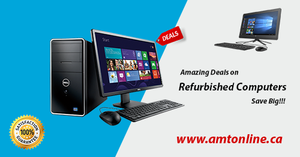 Benefit of buying refurbished desktops for commercial use