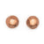 EARRING FACETED BALL STUD - ITEM RR17