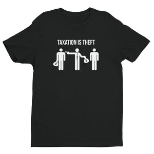 Taxation is Theft (Simple) Short Sleeve T-shirt