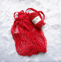 Red Mesh Tote