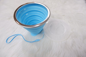 Collapsible Cup Blue