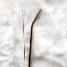 Copper Skinny Metal Straw *LIMITED EDITION*