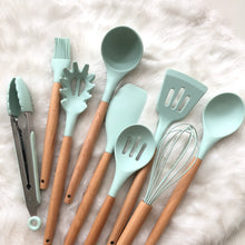 Silicone 9pc Kitchen Set