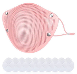 Pink Silicone Mask